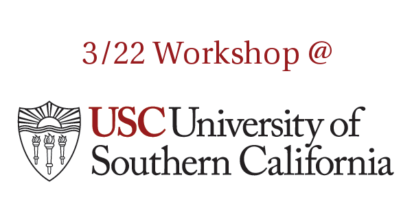 Pegasus Workshop on USC Health Science Campus, March 22nd 2016
