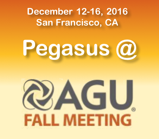 Pegasus @ AGU Fall Meeting 2016