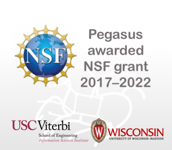 Pegasus receives continued support from the National Science Foundation