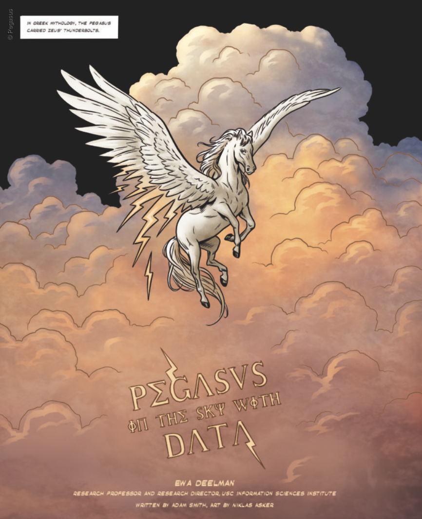 Pegasus in the Sky with Data