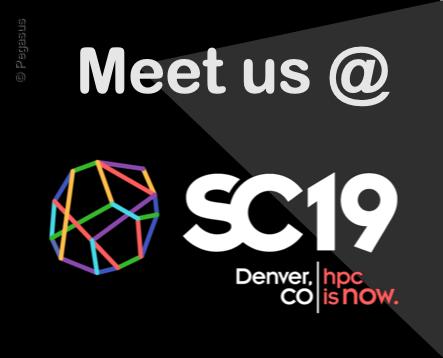 Meet us @ SC19